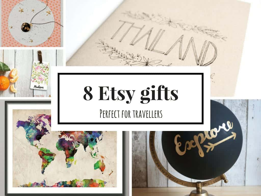 8 Etsy Gifts Perfect For a Person Who Loves to Travel