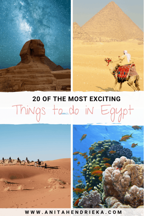 20 Unique and Diverse Things to do in Egypt 2020