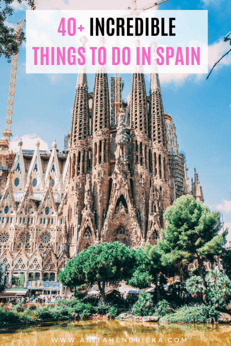 Toledo Barcelona and so much more. majestic mountains Spain: 101 Awesome Things You Must Do in Spain: Spain Travel Guide to the Best of Everything: Madrid Seville magnificent beaches