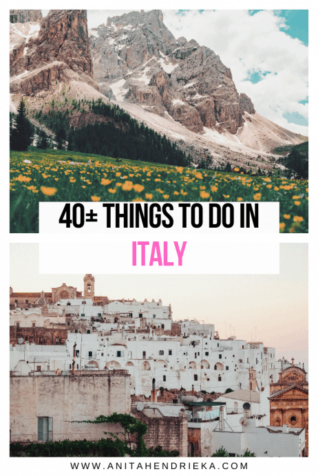 40+ of the Most Exciting Things to do in Italy (2020)