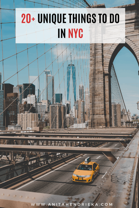 20+ Fun & Unique Things to do in New York City
