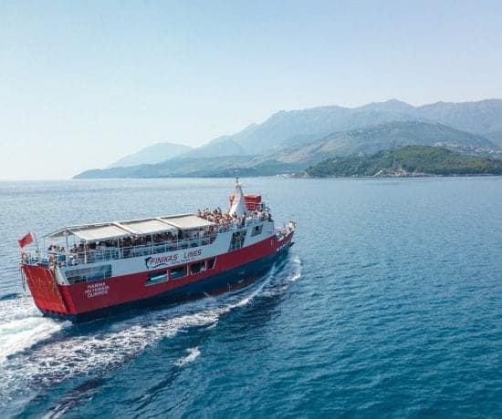 How To Get From Corfu, Greece to Saranda, Albania