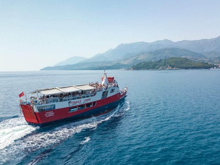 How To Get From Corfu, Greece to Saranda, Albania