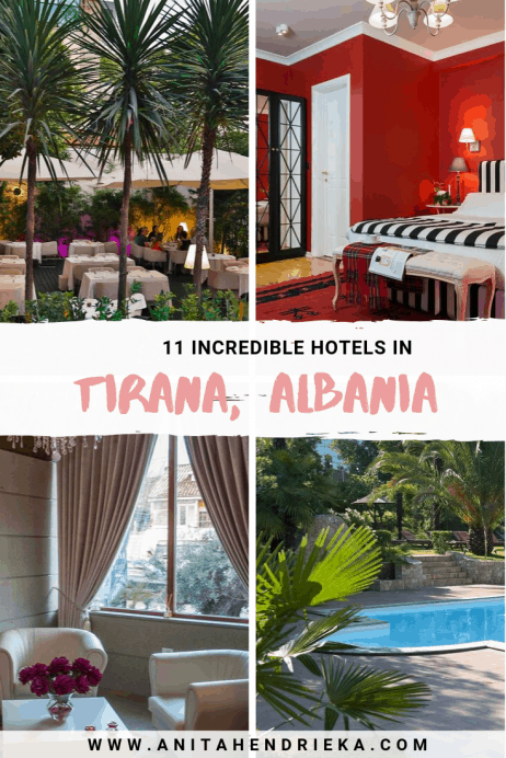 The Most Incredible Hotels in Tirana, Albania