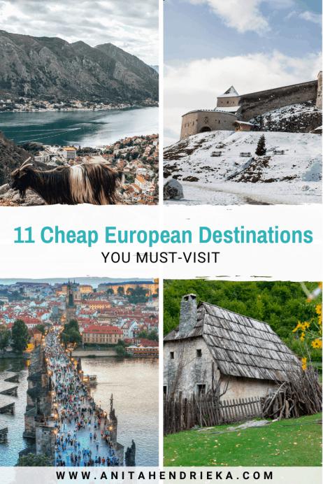 11 Cheap European Destinations
