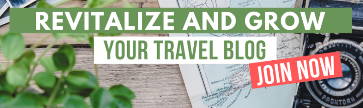 revitalize & grow your travel blog