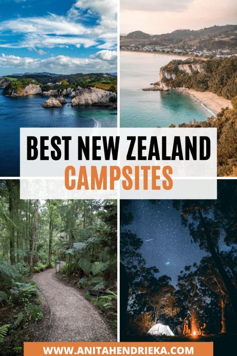 best campsites in new zealand