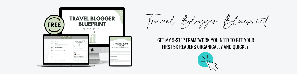 blogging coaching program travel blogger blueprint