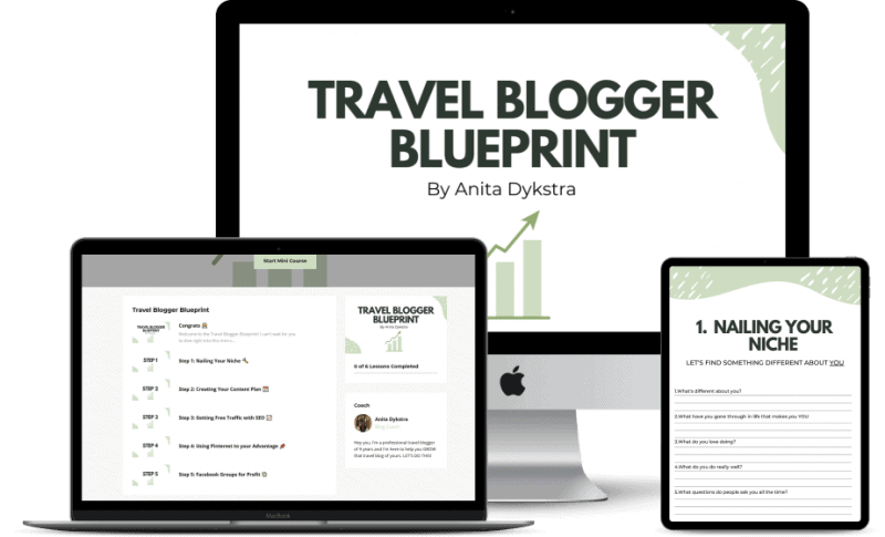 travel blog blueprint