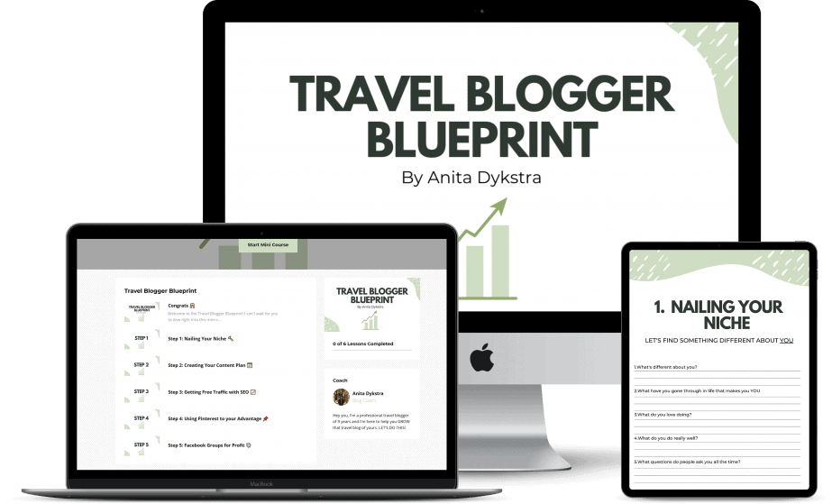 travel blog blueprint