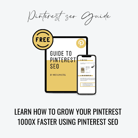 pinterest seo guide