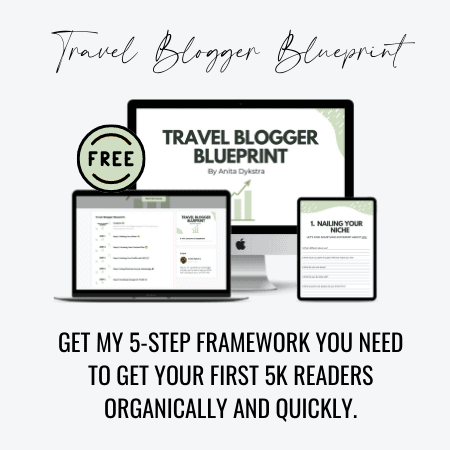travel blogger blueprint