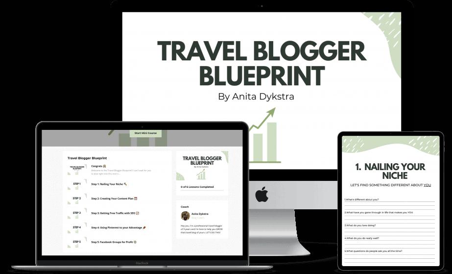 travel blogger blueprint