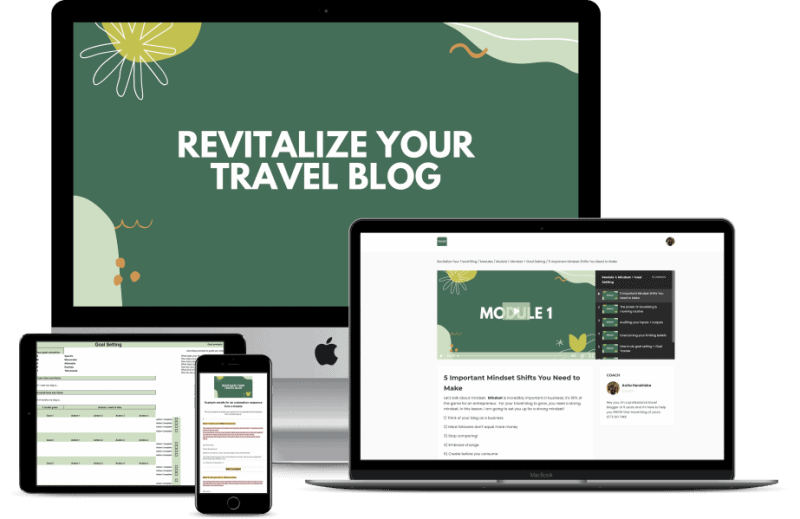 revitalize your travel blog
