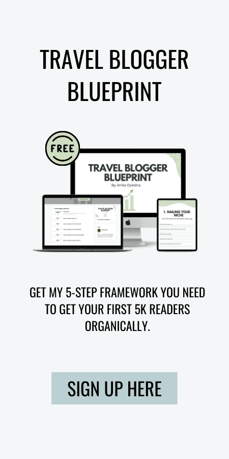 Get my 5-step framework you need to get your first 5k readers organically.