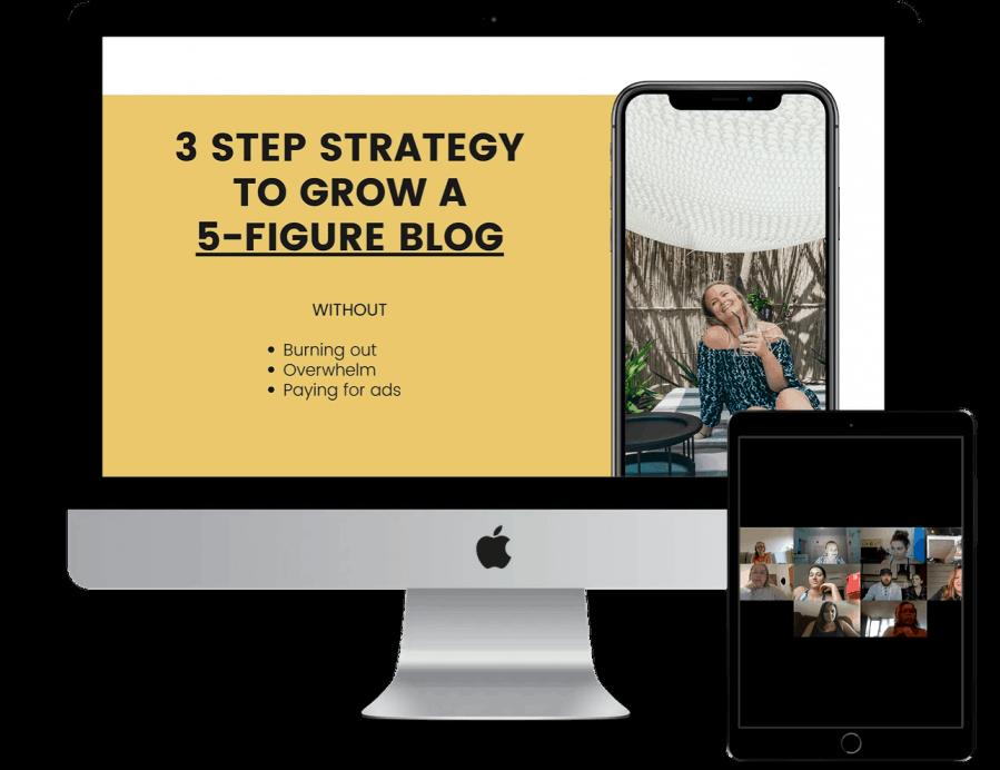 free blogging masterclass