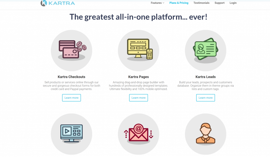 Kartra vs Kajabi: Best online course platform